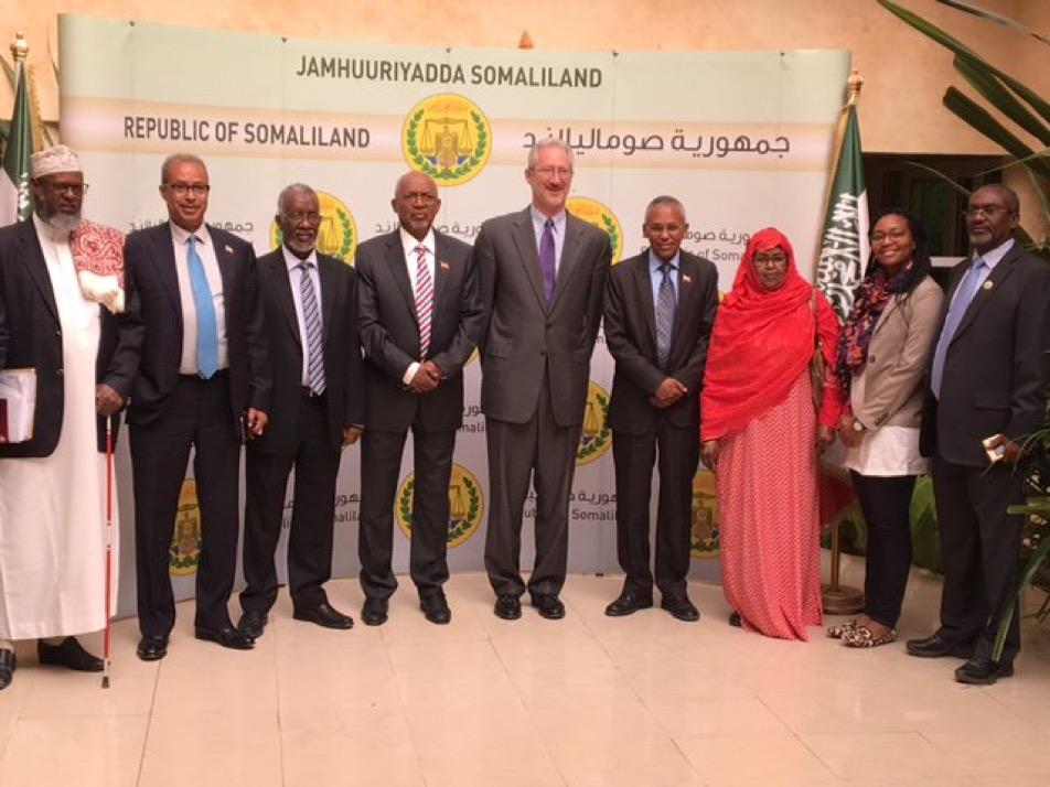 US Ambassador to Somalia visits Hargeisa