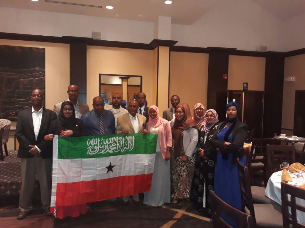 Somaliland Community in the US meets Mandela Washington Fellows