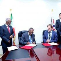 President Behi meets British Ambassador to Somalia